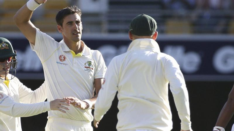 In first-class cricket, England and Australia players already wear numbers on their backs, unlike in other countries. (Photo: AP/PTI)
