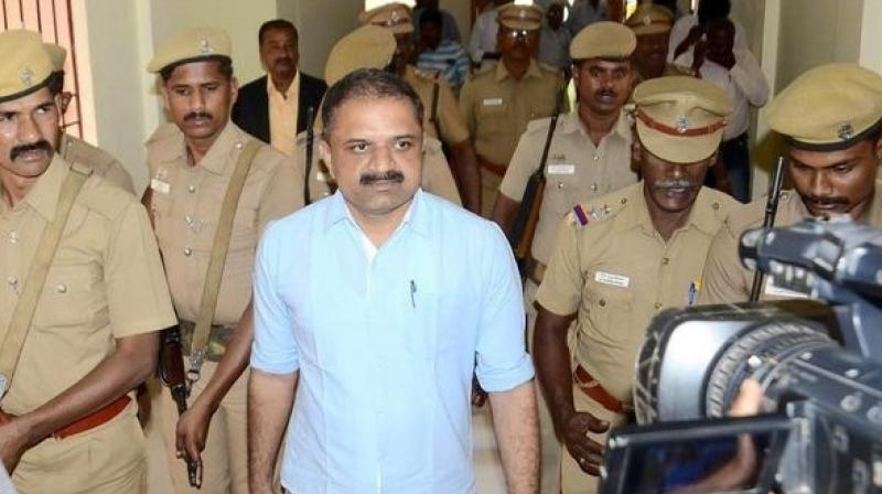 Perarivalan, one of the convicts of the Rajiv Gandhi assassination case. (Photo: File)