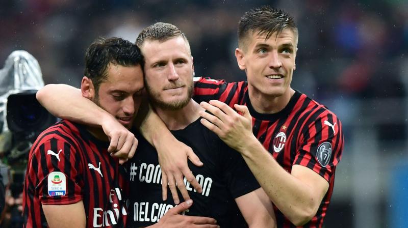Football club AC Milan. (Photo: AFP)