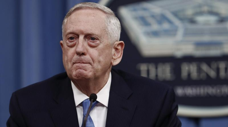 Mattis, along with NATO chief Jens Stoltenberg, will meet President Ashraf Ghani and other top officials to discuss the US-led NATO 'train and assist' mission designed to strengthen Afghanistan's military so it can defend the country on its own. (Photo: AP/File)