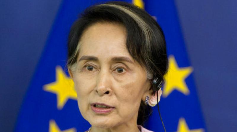 As reported by the Guardian, Rights group estimates that 75,000 Rohingya have fled to neighboring countries such as Bangladesh. (Photo: AP)