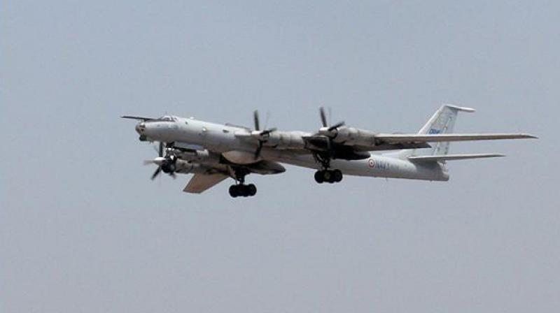 The Indian Navy's decommissioned Tupolev Tu 142M aircraft. (Wikimedia Commons)
