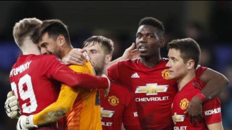 United are sixth in the table, three points adrift of fourth-placed Chelsea and one behind Arsenal heading into Sunday's league trip to Huddersfield Town, and the club could finish outside the top four for the fourth time in six seasons. (Photo: AP)