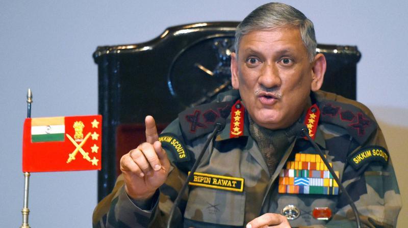 Army Chief Gen Bipin Rawat  (Photo: PTI)