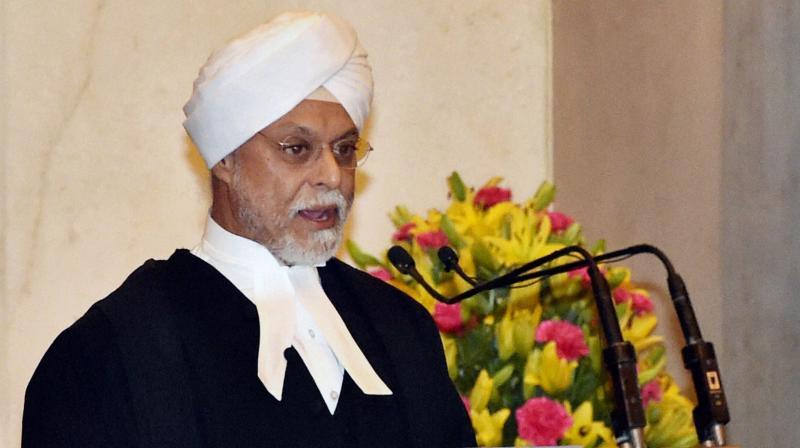 Chief Justice of India J.S. Khehar. (Photo: AP)
