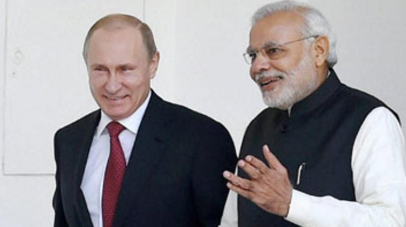 The agreement between the two countries was signed by Home Minister Rajnath Singh and Russia's Interior Minister Vladimir Kolokoltsev after they held wide-ranging talks. (Photo: PTI)