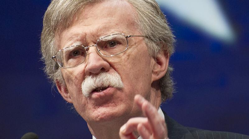 'Just so there's no confusion here, if the Syrian regime uses chemical weapons we will respond very strongly and they really ought to think about this a long time,' Bolton said. (Photo: File)