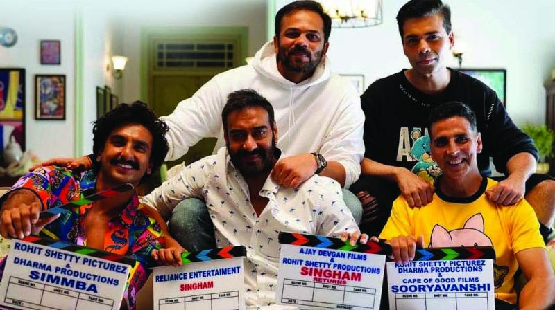 Rohit Shetty's police-mania continued with films like Singham, Simmba and Sooryavanshi. And now, the director has found a title for a film, which could potentially bring the biggest names in Bollywood together for a single cop movie – Aaya Police.