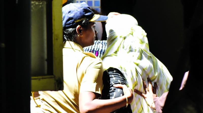 Three doctors accused of abetting Dr Payal Tadvi's suicide were produced at a sessions court on Wednesday. —Debasish Dey  26 year old, Dr Payal Tadvi, who worked as a gynaecologist committed suicide on May 22 after humiliated by her seniors because she belongs to a scheduled tribe. (Photo: Debasish Dey)