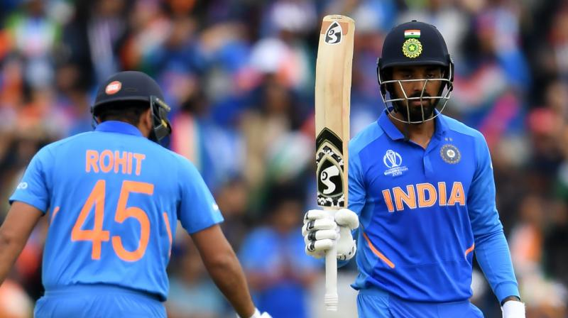 India expect Dhawan to be fit before the June 30 match against England but Rahul's first fifty of the tournament suggests he can be a handy replacement. (Photo: AFP)