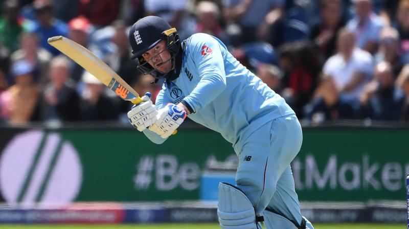 Roy, who suffered a hamstring injury during England's tour of the Caribbean earlier this year, hit a fifty in their World Cup opening win over South Africa. (Photo: AFP)
