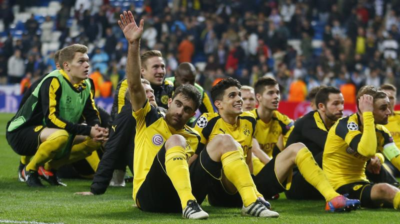 Madrid were left with the consolation prize of matching the club's 34-game unbeaten streak that had stood since the late 1980s. (Photo: AP)