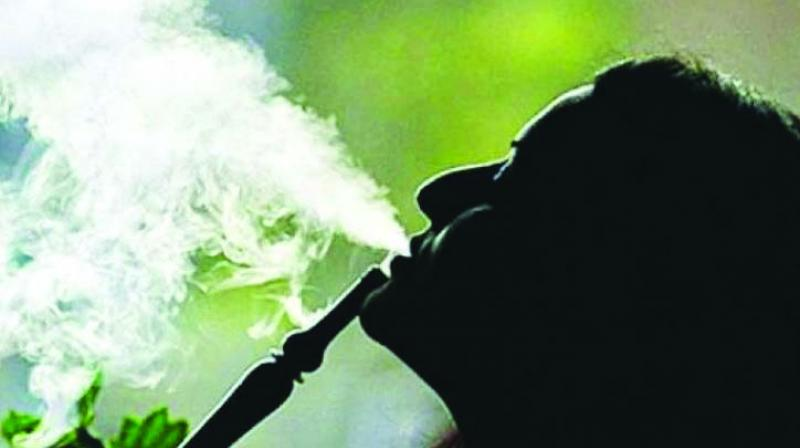"""Cigarette smokers and hookah smokers are on the rise in the state. Youths and women too are under severe influence of tobacco and tobacco-related items,"""" said Mr Gajbhiye.  (Representational picture)"""