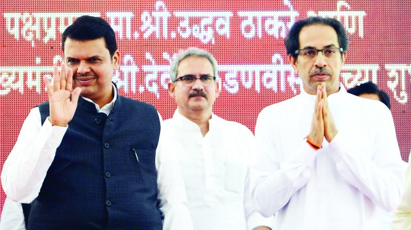The Shiv Sena on Thursday alleged that imposition of President's rule in Maharashtra was a