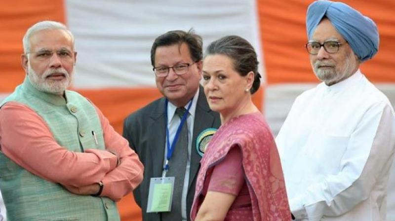 Congress president Sonia Gandhi said, 'A year later, demonetisation has done nothing but rub salt on the wounds of distressed farmers, small traders, housewives and daily workers. The fortunes of a handful are being built by destroying the future of the poor and the oppressed.' (Photo: File   GST)