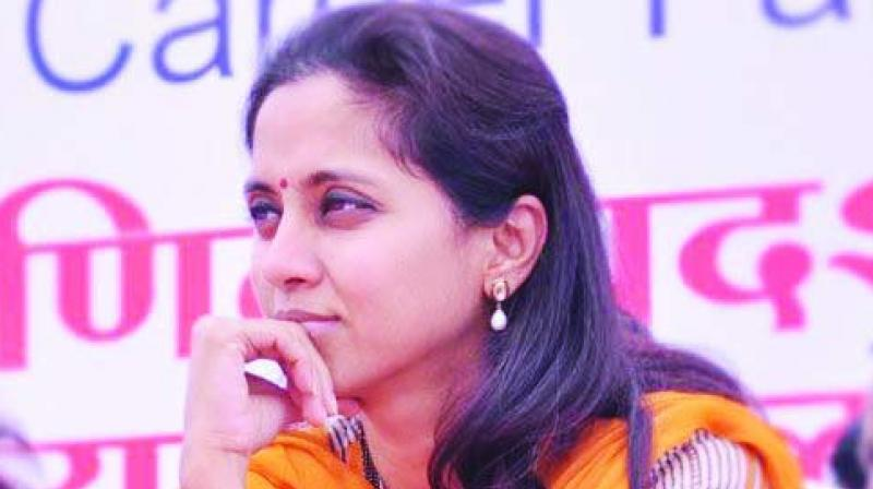 Nationalist Congress Party (NCP) MP Supriya Sule