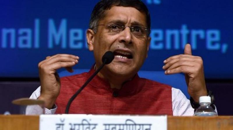 Chief Economic Advisor Arvind Subramanian said that he had the best job and 'also the best job I will ever have'. (Photo: File/PTI)