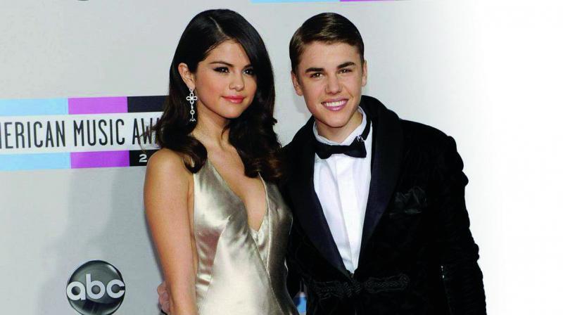 Selena Gomez and Justin Bieber. (Photo: AP)