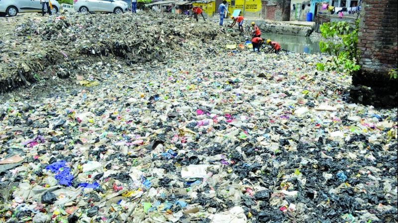 Around 700 metric tonnes of plastic waste is generated daily in the city.
