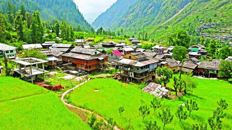 A remote Himalayan Israelised village.
