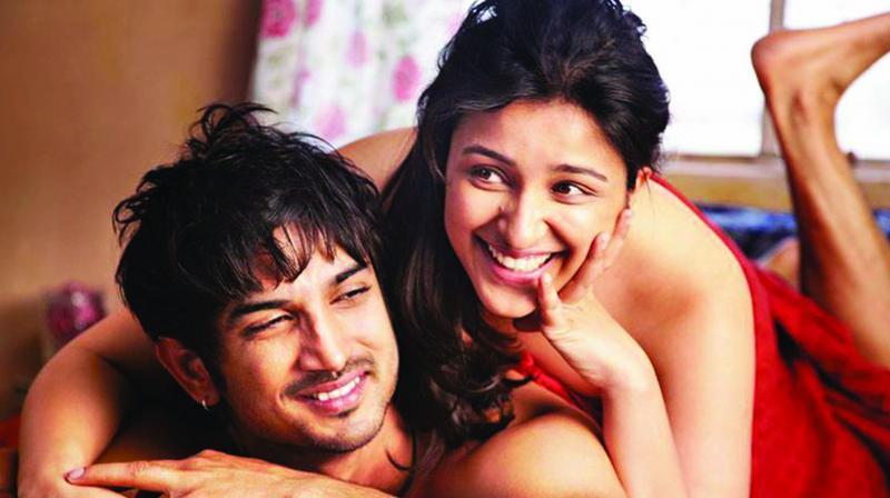 Still from Shuddh Desi Romance.