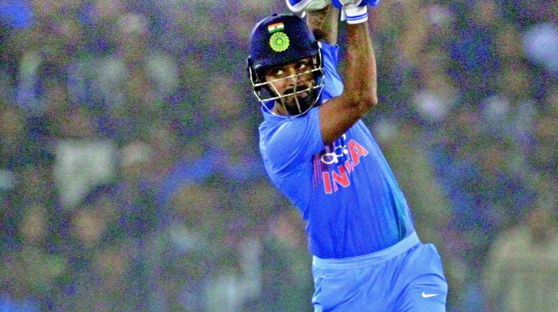 KL Rahul scored a 48-ball 61. (Photo: PTI)