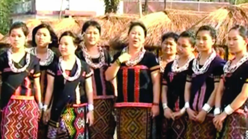 Members of Idu Mishmi tribe.