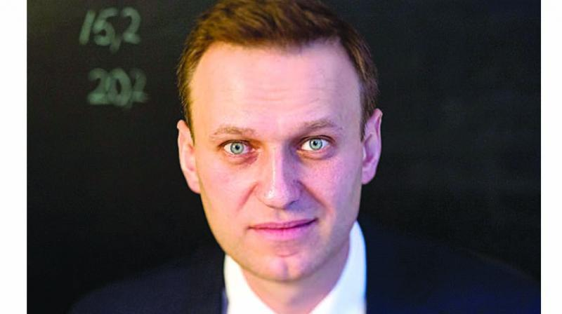 Navalny, who has organised some of the biggest anti-government demonstrations in years, has been jailed three times in 2017 and charged with breaking the law for organising public meetings and rallies. (Photo: File)