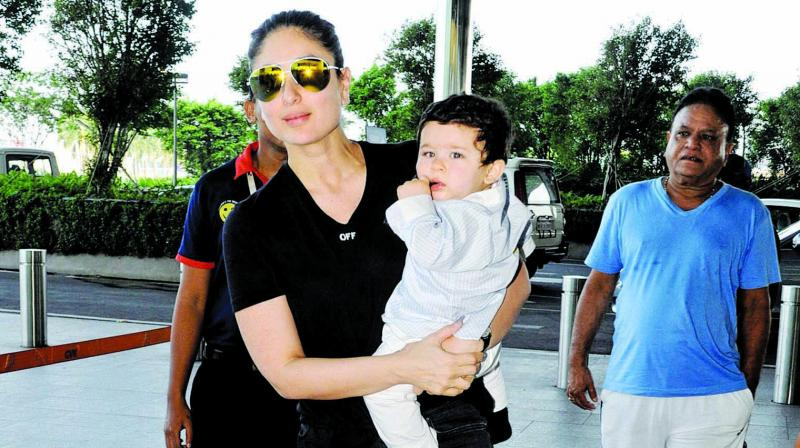 Kareena Kapoor Khan also juggled gym sessions, bonding time with baby Taimur Ali Khan, and the shoot for her upcoming film Veere Di Wedding, just a couple of months after she gave birth.