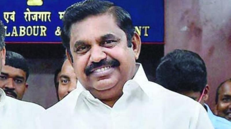 Tamil Nadu Chief Minister Edappadi Palaniswami (Photo: Asian Age)