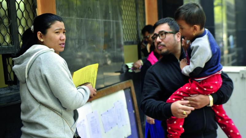 Admission process for nursery for around 1,695 private unaided recognised schools had started from December 27 (Photo: GN Jha)