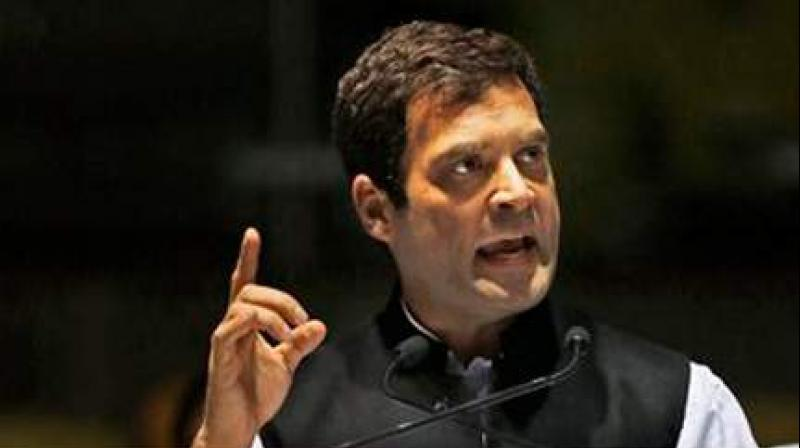 Congress President Rahul Gandhi (Photo: AP)