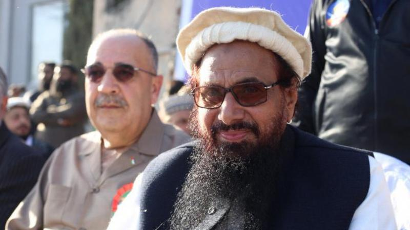 "Pak banned Mumbai attack mastermind Hafiz Saeed-led JuD from collecting donations after Trump accused Islamabad of 'lies and deceit' and providing 'safe haven"" to terrorists.' (Photo: File)"
