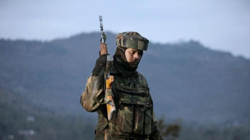 Two militants struck a CRPF training centre in Lethpora area of Pulwama in the early hours of Sunday. (Photo: AP/Representational)