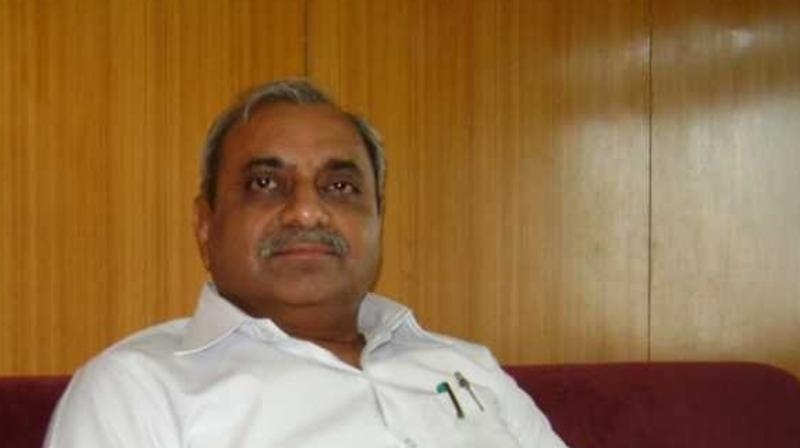 However, Nitin Patel didn't disclose whether he would be getting Finance or Urban Development departments which he held in the previous government. (Photo: ANI)