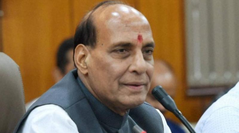 Home minister Rajnath Singh, in a statement issued on Sunday, reiterated that the security forces had been directed to take all possible action to ensure that terror outfits do not resort to violence and killing. (Photo: PTI)