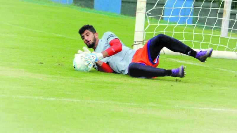 With three clean sheets in five games, Vishal is making rapid strides in the Indian Super League compared to the previous edition.