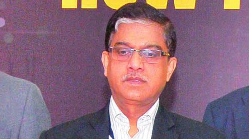 GSTN CEO Prakash Kumar.