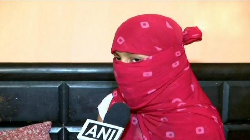 Recalling the ghastly incident, the Ghazipur rape victim revealed that the prime accused took her to the Madrassa by force and also threatened to kill her family. (Photo: Twitter/ANI)