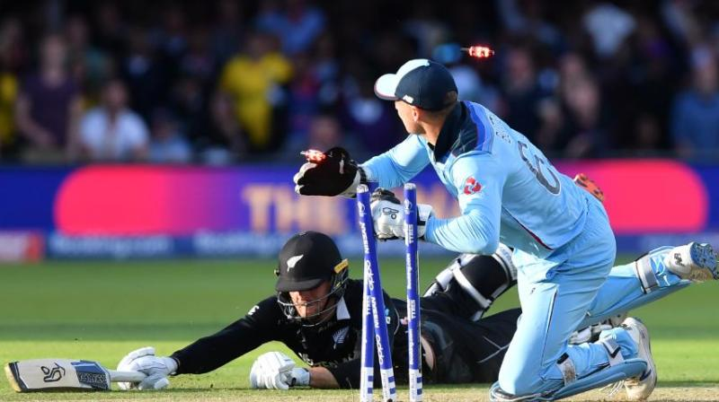 New Zealand PM Jacinda Ardern praised the Black Caps for putting their all on the line and then accepting the gut-wrenching defeat with grace. (Photo: Cricket World Cup/Twitter)