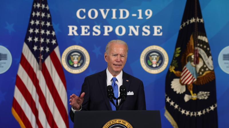Joe Biden announces additional 100 million Johnson & Johnson vaccine doses