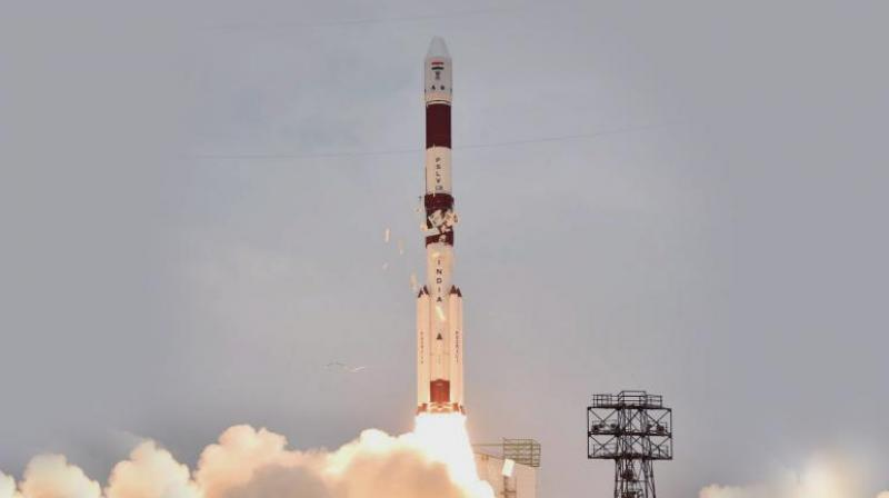 Isro's PSLV C36 lifts off from Satish Dhawan Space Centre in Sriharikota. (Photo: PTI)