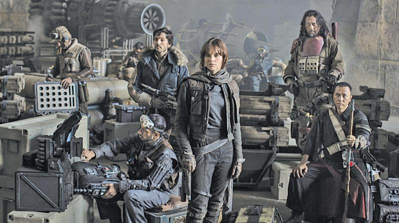 Lucasfilm is releasing Rogue One: A Star Wars Story as an early Christmas gift for millions of Star Wars fans.