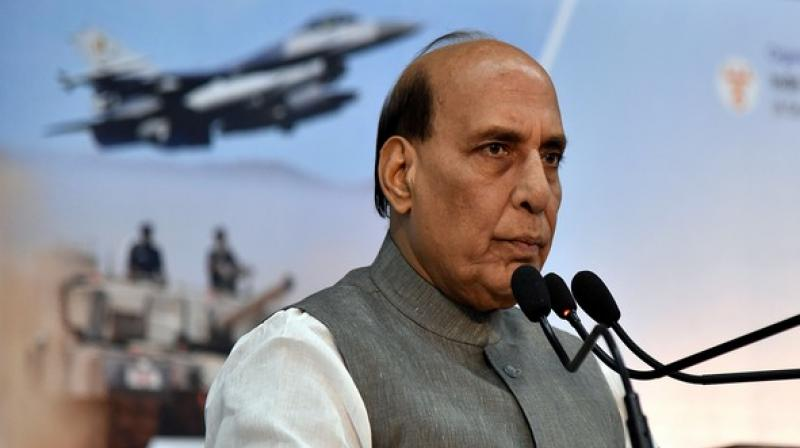 'Leaving New Delhi for Paris on a three-day visit to France. Shall attend the Annual Defence Dialogue and the Induction Ceremony of Rafale. India-France bilateral relations have made tremendous progress in recent years. Looking forward to further and deepen these ties,' he stated in a tweet. (Photo: ANI)