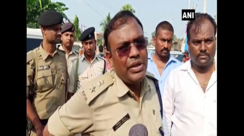 The deceased has been identified as Chandan Kumar, brother of RJD leader, Satyendra Kumar (aka Bablu Yadav). Kumar is the RJD, general secretary, Panchayati Raj cell. (Photo: ANI)