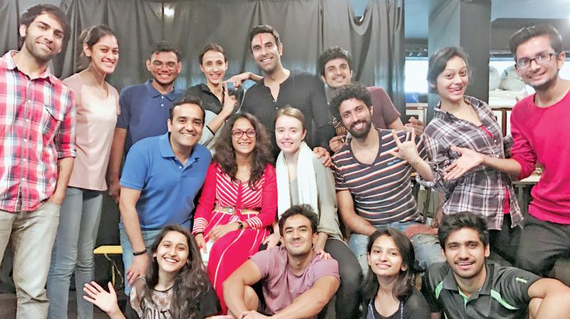 Jannat Central is a dance drama, which will premier at the prestigious Prithivi Theatre soon.