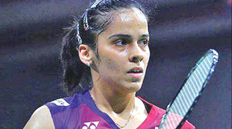 The 29-year-old Saina Nehwal, who had claimed the Indonesia Masters in January this year, lost 20-22 21-23 to world no 16 Young after a 49-minute thrilling contest. (Photo: File)