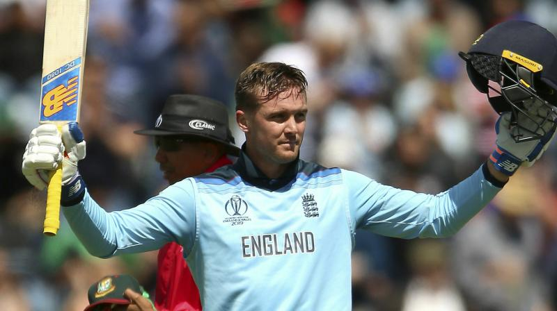 Roy tore his left hamstring in the field during England's eight-wicket win over the West Indies last week. (Photo: AP)