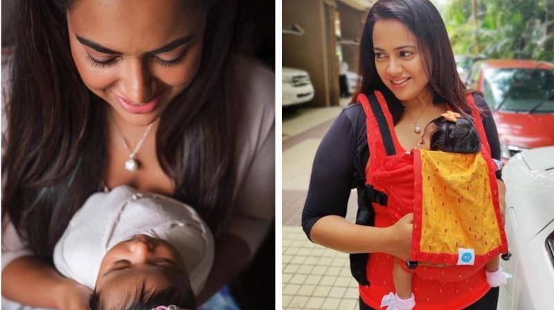 Sameera Reddy and Nyra. (Image Source: Instagram/ reddysameera)