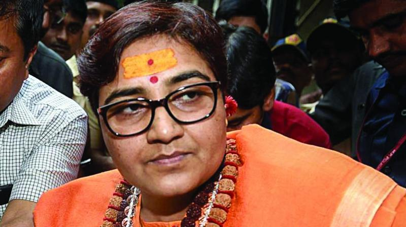 In another tweet, Pragya Thakur called Dangi a close associate of senior Congress leader Digvijaya Singh. (Photo: File)